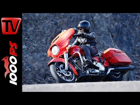 Harley-Davidson Tourer Test 2017 - Street Glide, Road Glide, Ultra Limited