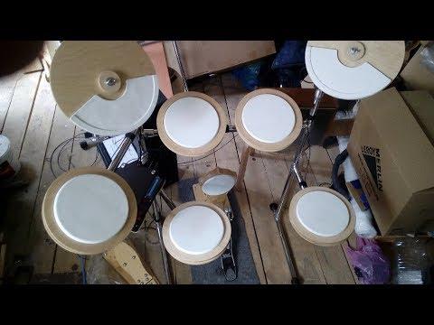 Электронные барабаны(жёсткий самопал)
