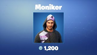 Moniker | Fortnite Outfit/Skin
