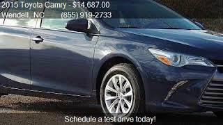 2015 Toyota Camry  for sale in Wendell, NC 27591 at Auto Dir