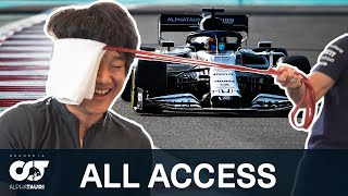 Yuki Tsunoda - ALL ACCESS | Behind the Scenes in Abu Dhabi