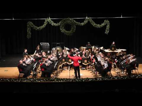 Holiday Concert 2016 Princeton-Rider Brass Band 1st Half