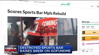 In his own words: Sports bar owner who closed during pandemic has business destroyed by protests
