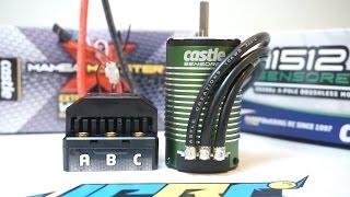 Brushless Motor Cogging Explained! Unbox Castle Creations 1512 2560KV Sensored Motor