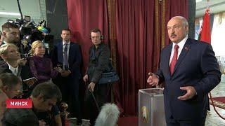 Лукашенко: Если какой-то придурок начинает бросаться на избирателей – отвернём голову! / Видео