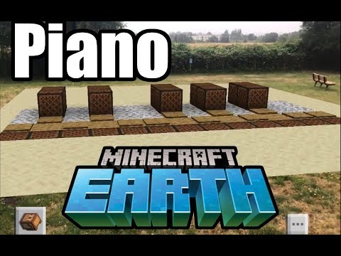 Someone Built A Giant Piano In Minecraft Earth Polygon