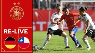 Germany vs. Chile 2-0 | Re-Live | Women's Friendly