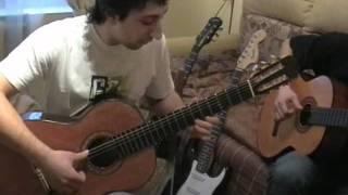 Кубинский танец (Сuban dance) на две гитары