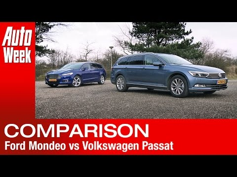 Ford Mondeo vs. Volkswagen Passat [2015] - English subtitled