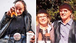 Он приютил бомжа в своем доме, но жена была против и выгнала бездомного! Но потом пожалела об этом!