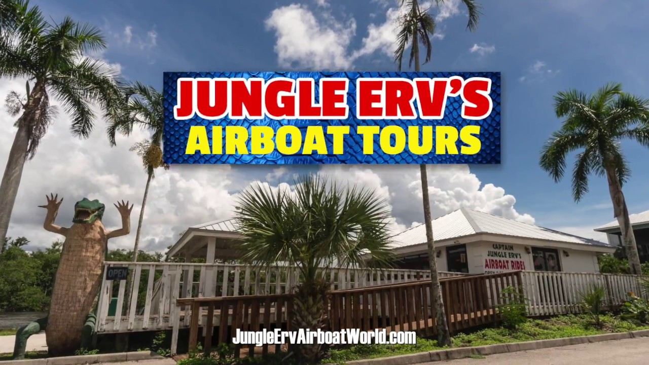 Jungle Erv S Airboat Tours The Best Everglades Airboat Tours