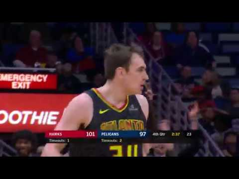 Tyler Cavanaugh scores 16 points in 18 minutes for Atlanta Hawks