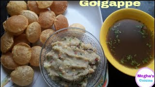 Yummy street food golgappe recipe at home