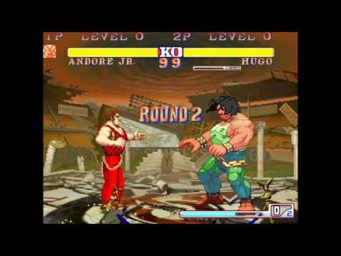 Andore (Final Fight) vs Hugo (Street Fighter 3)