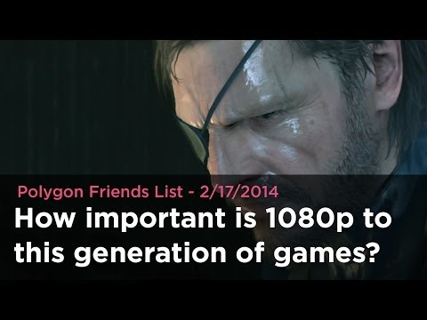 How important is 1080p to this generation of games?