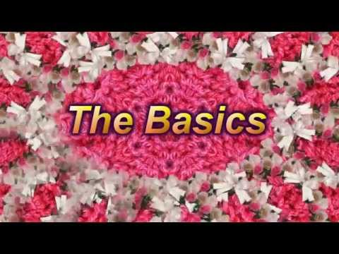 Learn to Crochet Lesson 1 – The Basics