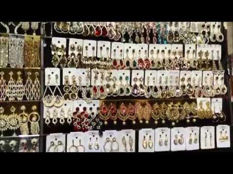 Indian jewellery market (Mumbai)***سوق ذهب في مومباي