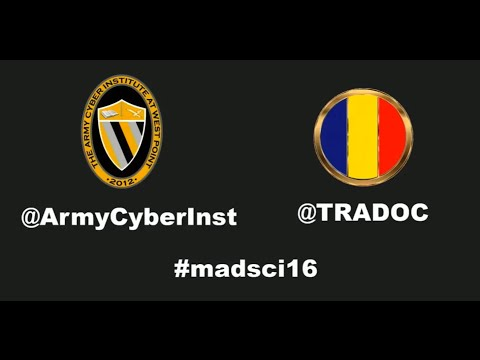 .@ArmyCyberInst #MadSci16 @adafruit talks hands-on #STEM learning for kids of all ages