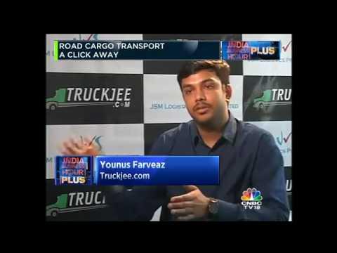 TRUCKJEE: Road Cargo Transport A Click Away