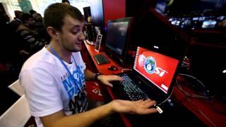 Игромир 2013 Небольшой обзор игрового ноутбука MSI GS70 Stealth