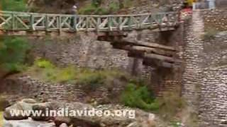 Wooden Bridge, Gangotri, Uttarakhand, India