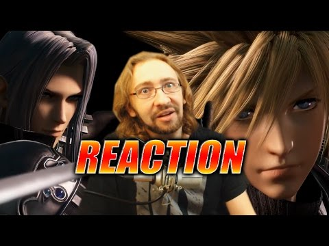 MAX REACTS: Sephiroth Trailer - DISSIDIA Final Fantasy Fighter
