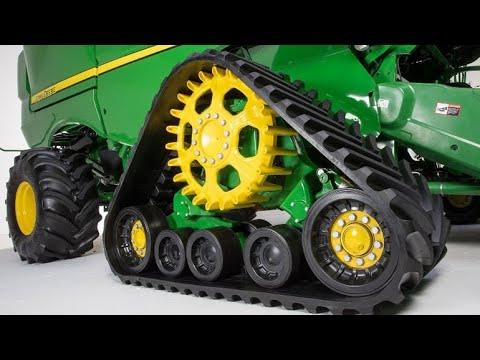 New Tracks System for Model Year 2019 John Deere S700 Combines