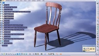 Catia V5 Tutorial|furniture & Product Design|how To Design A Chair|part 1