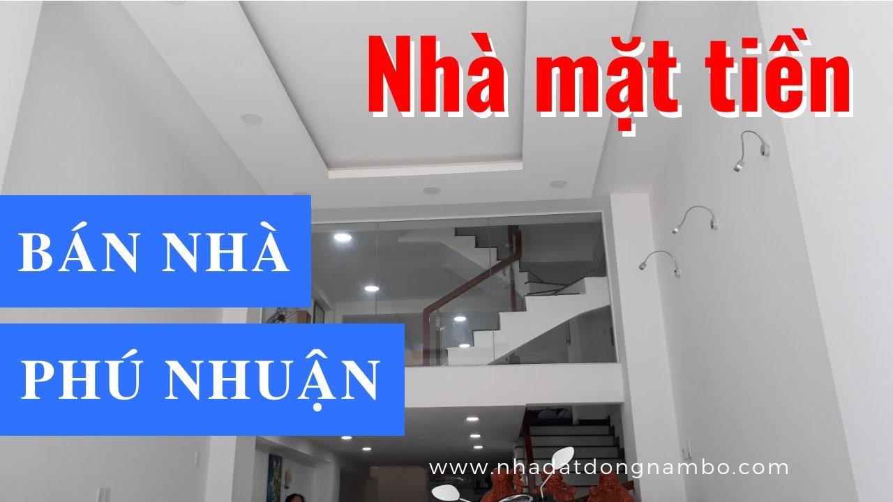 Bán Nhà Mặt Tiền Đường Thích Quảng Đức Phường 4 Quận Phú Nhuận 2020. Nhà Phố 3 Tầng Đẹp Hiện Đại