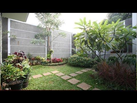Desain Taman Belakang Rumah Minimalis Youtube