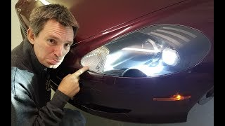 How to Change the Front Position Lamp Bulb in an Aston Martin DB9