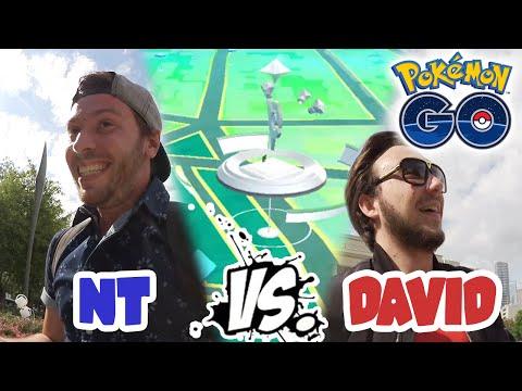 NT VS DAVID LAFARGE : COURSE A L'ARENE ! - VLOG POKEMON GO