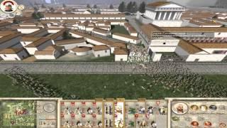 Rome Total War - Исторические сражения №5 (Осада Спарты)