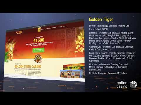 Promotions And Bonuses In Golden Tiger Casino: A Review By OnlineCasinoBOX.net