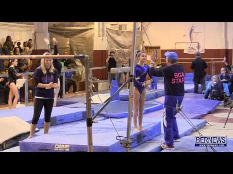 Uneven Bars Routines At International Gymnastics Meet Jan 12 2013