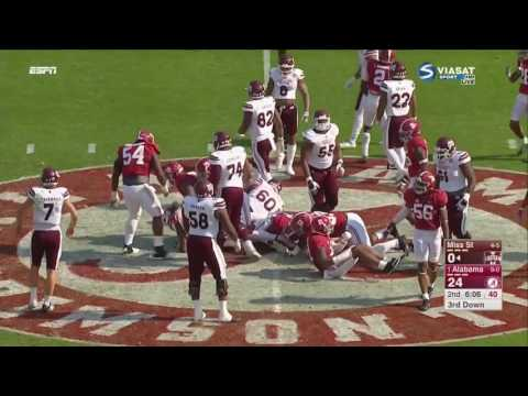 Alabama vs Mississippi State, 2016 (in under 33 minutes)