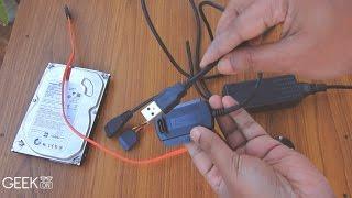 How to Use Hard Disk as USB Flash Drive [Plug & Play]