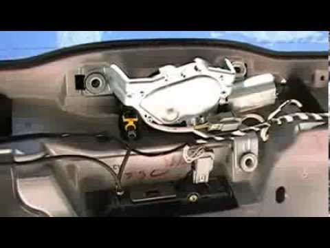 2005 Volvo Xc90 Fuse Diagram How To Remove Or Replace Your Volvo Xc90 Rear Wiper Motor