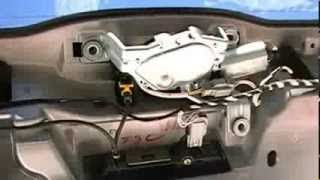 How to remove or replace your Volvo XC90 rear wiper motor