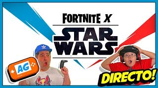 FORTNITE  X STAR WARS EVENTO en 🔴 DIRECTO 🔴DIRECTO 🔴 Código: abrelo-game 👈