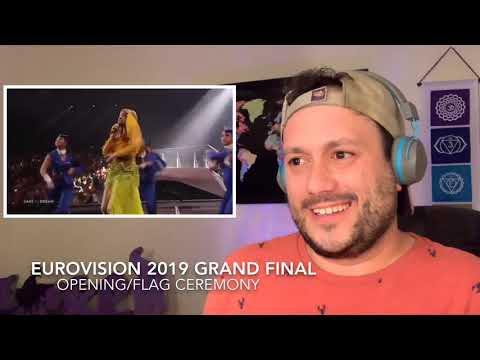 Eurovision 2019 Opening/Flag Ceremony Reaction!