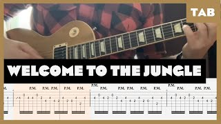 Welcome to the Jungle Guns N' Roses Cover   Guitar Tab   Lesson   Tutorial