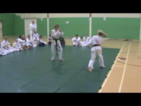 lacey and emilys demo for solent martial arts academies zen ha kenpo ryu jujitsu