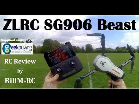 Фото ZLRC SG906 Beast review - NEW Dual GPS 5G WiFi FPV Foldable RC Drone