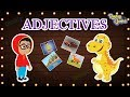 Adjectives - The Describing Words   English Grammar For Kids with Elvis   Roving Genius