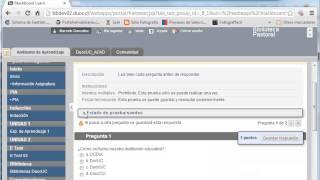 Cómo responder un E-test en el AVA.
