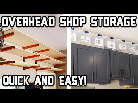 Overhead Shop Storage