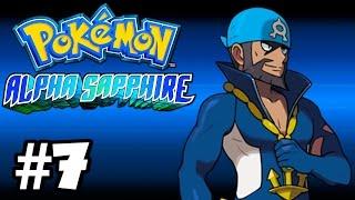 Pokemon Alpha Sapphire 3DS Läpipeluu Osa 7 Museossa Tapahtuu