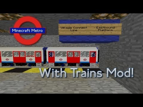 Minecraft Metro System
