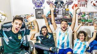 Argentina vs Guatemala | Partido Internacional 2018 | Reacciones de Amigos